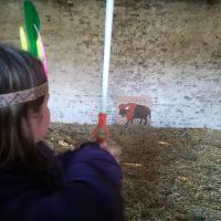 jetzt werden die Präriebüffel erlegt